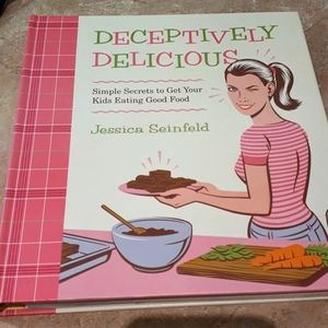 Deceptively Delicious cookbook by Jessica Seinfeld
